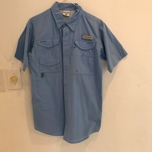Columbia Sportswear youth blue shirt size XL